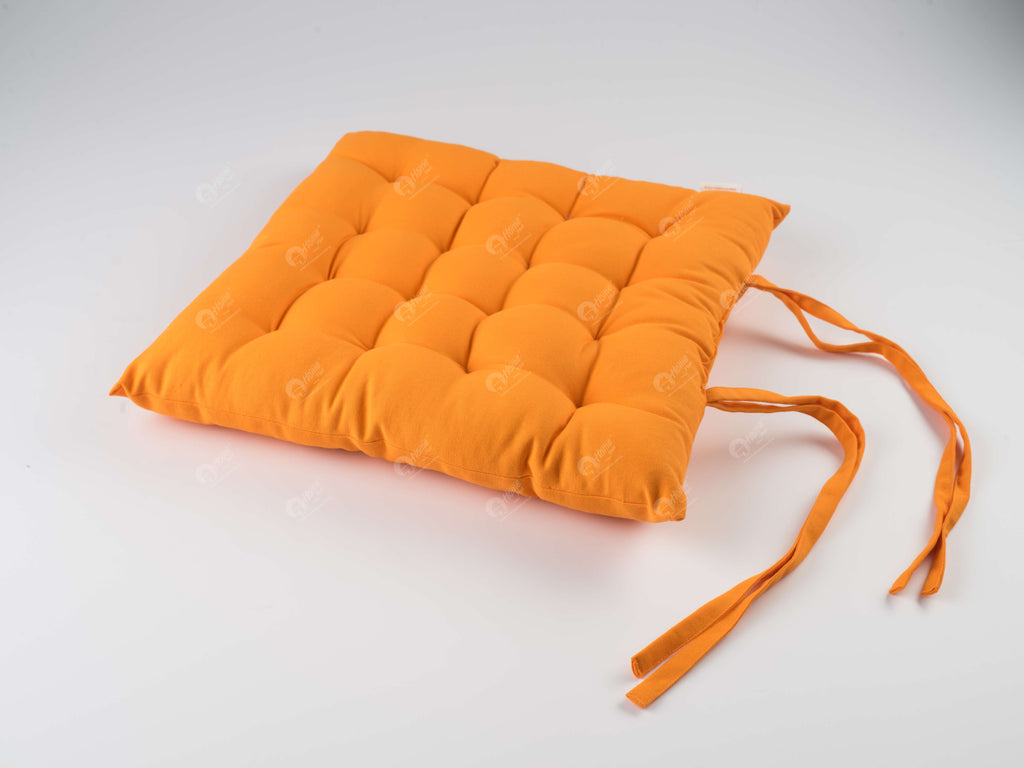 Chair Pad - Solid Orange