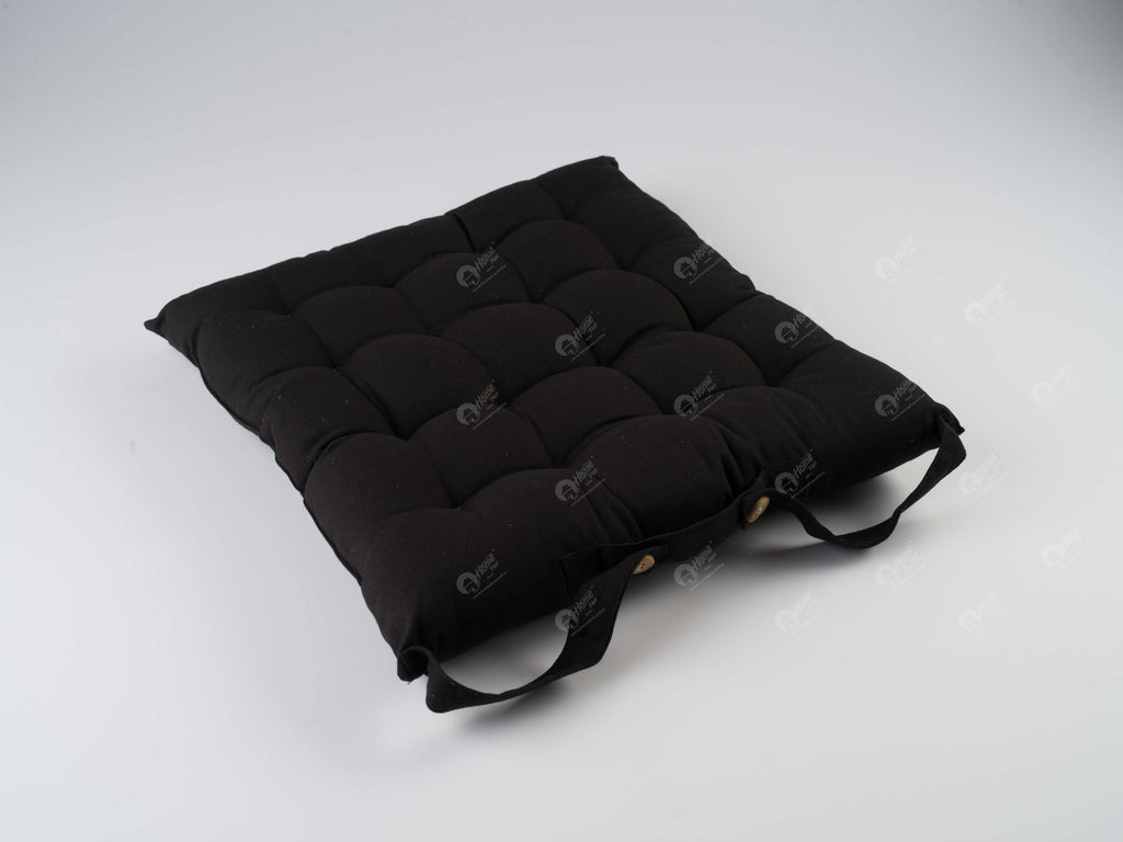 Chair Pad - Solid Black