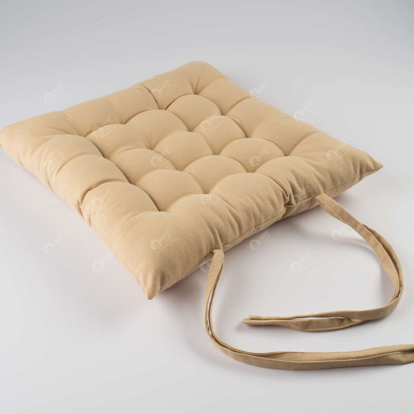 Chair Pad - Solid  Beige