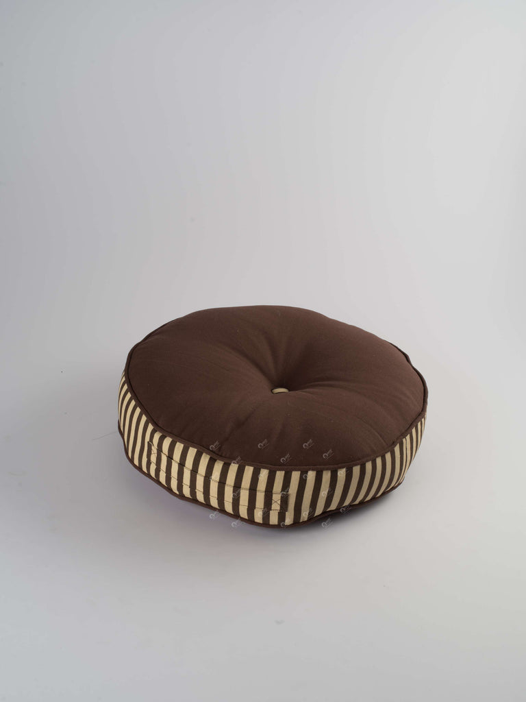 Floor Cushion R - Solid  Choco