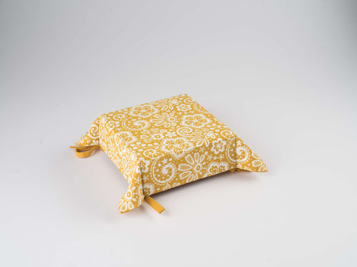 Bread Basket - Lace Mustard