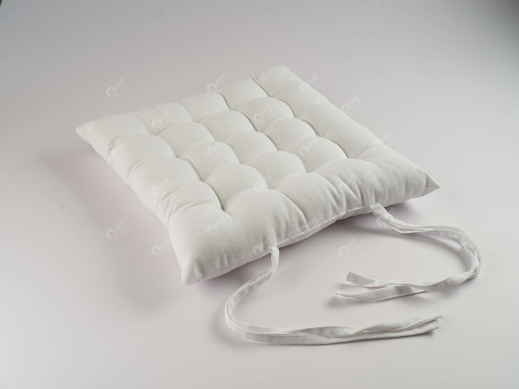 Chair Pad - Solid  White