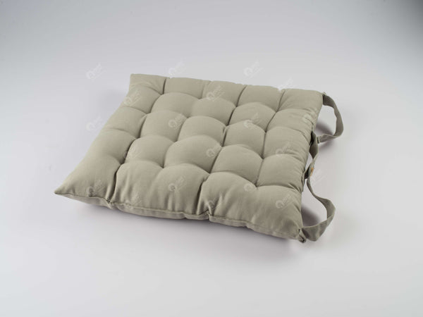 Chair Pad - Solid  Grey