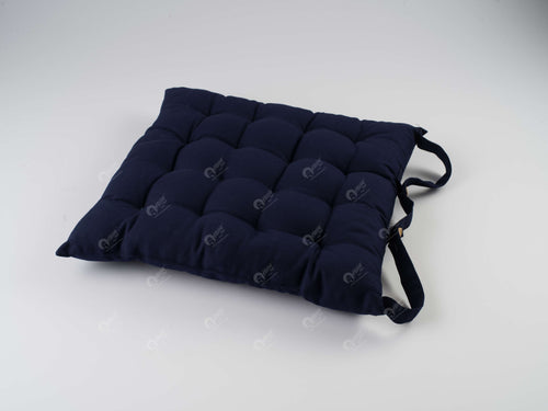 Chair Pad - Solid  Navy
