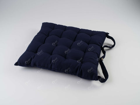 Chair Pad - Solid  Dark Blue