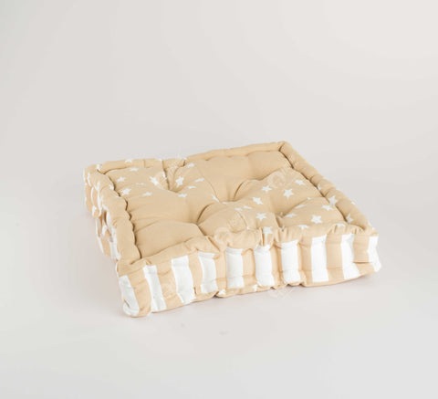 Floor Cushion - Star Beige J