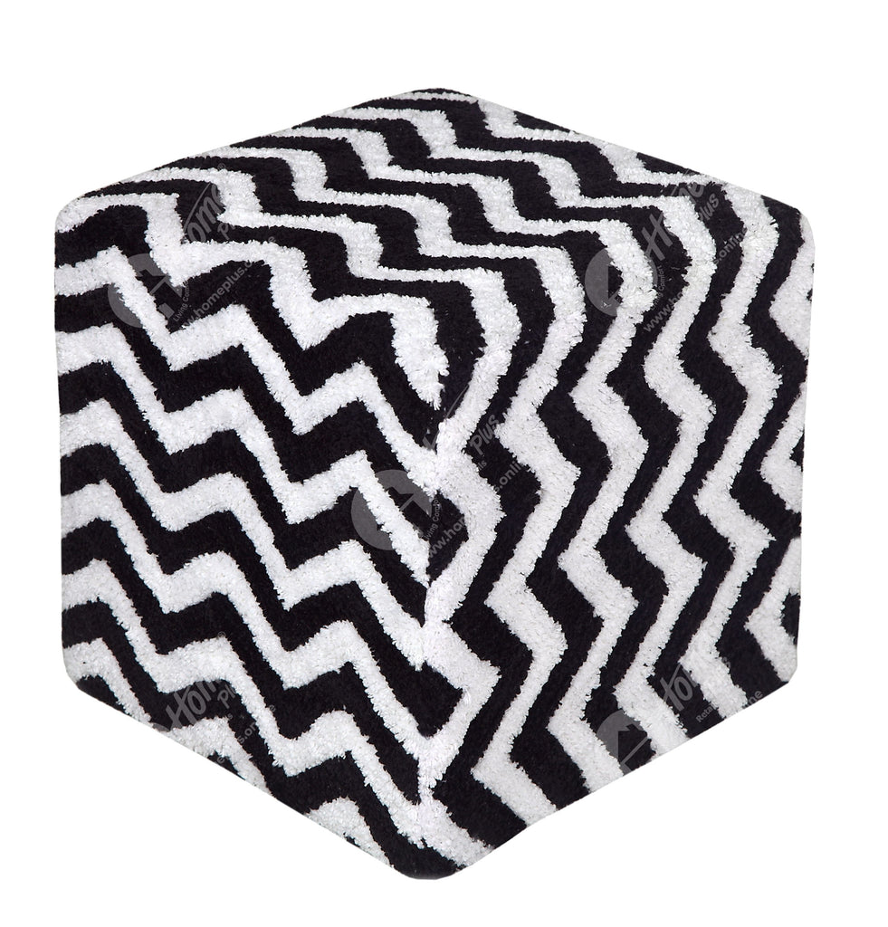 Cube Lite - Tuffted Chevron Black