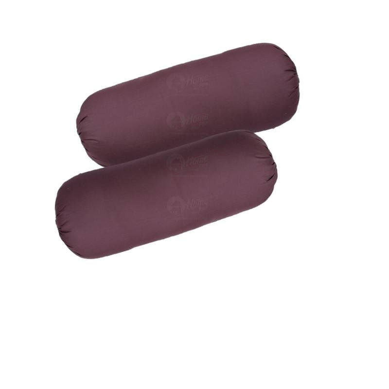 Bolster - Solid  Grape (Pack of 2)