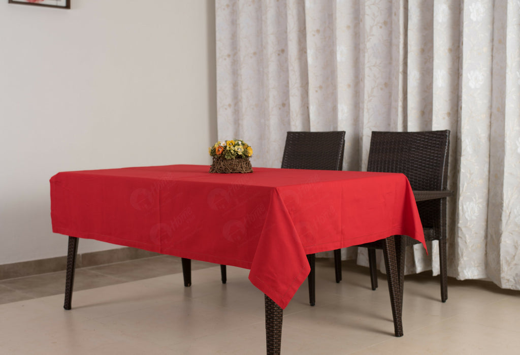Table Cloth - Solid Red