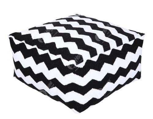 Pouffe - Thick Chevron