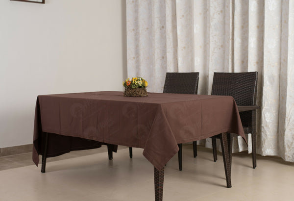 Table Cloth - Solid Choco