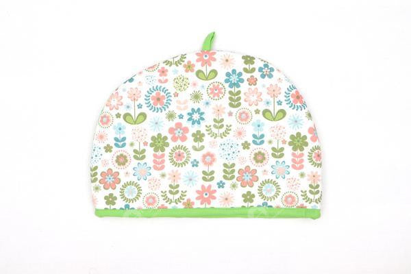 Tea Cozy - Retro Flowers