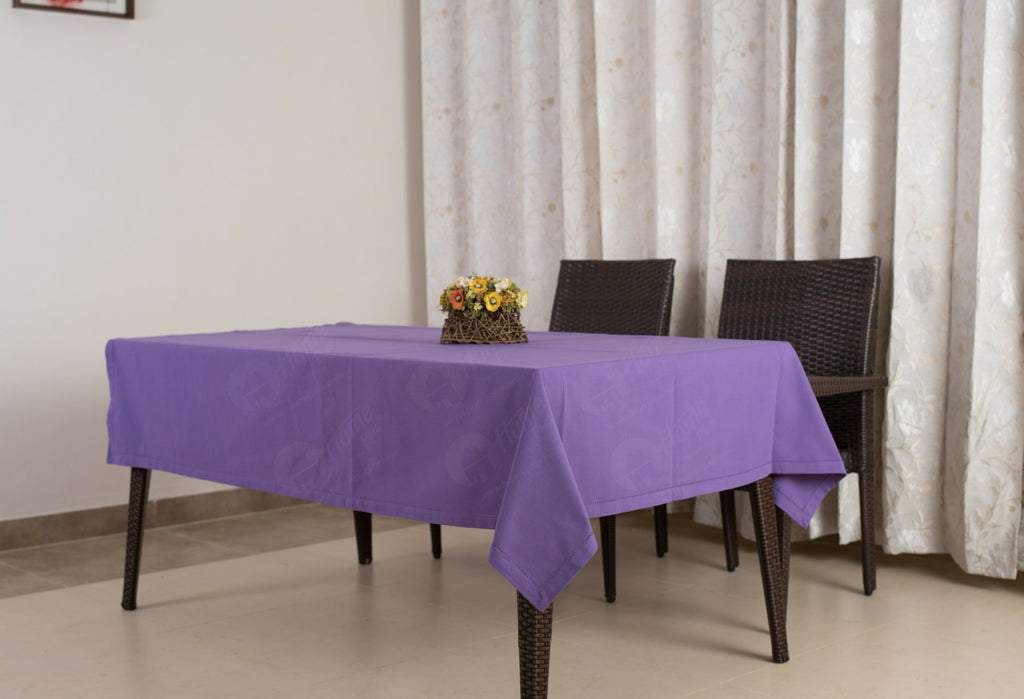 Table Cloth - Solid Purple
