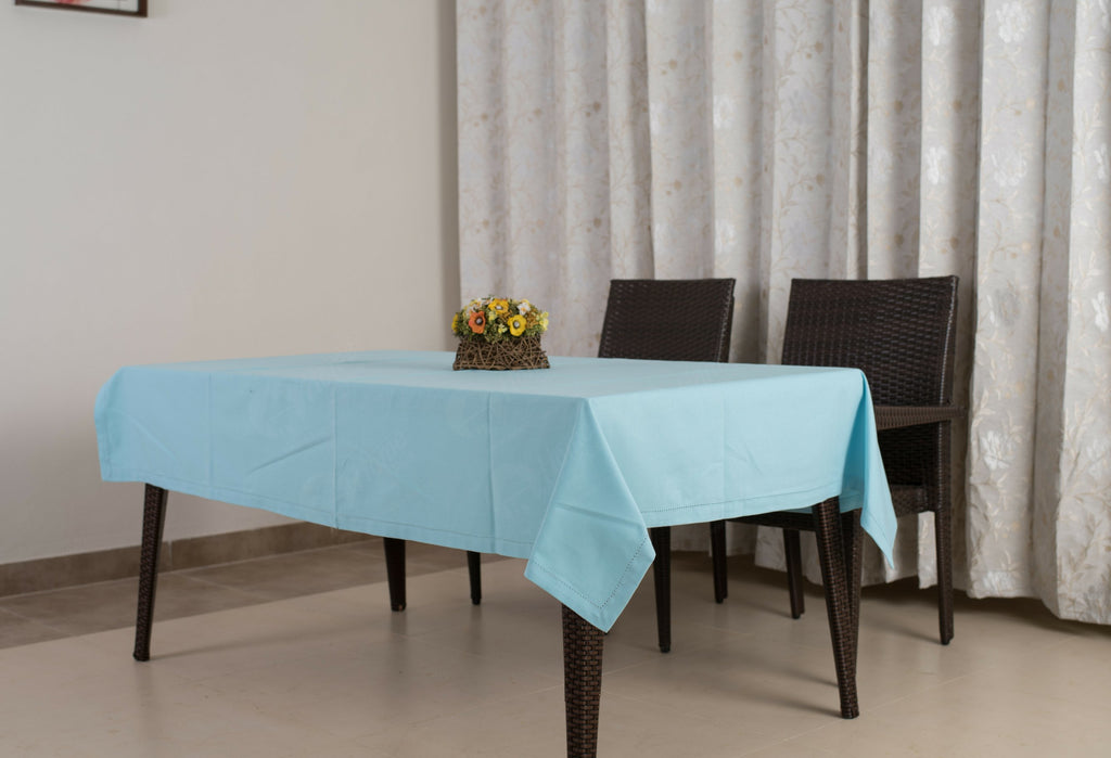 Table Cloth - Solid Blue