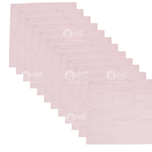 Kerchief Set - Solid Pink
