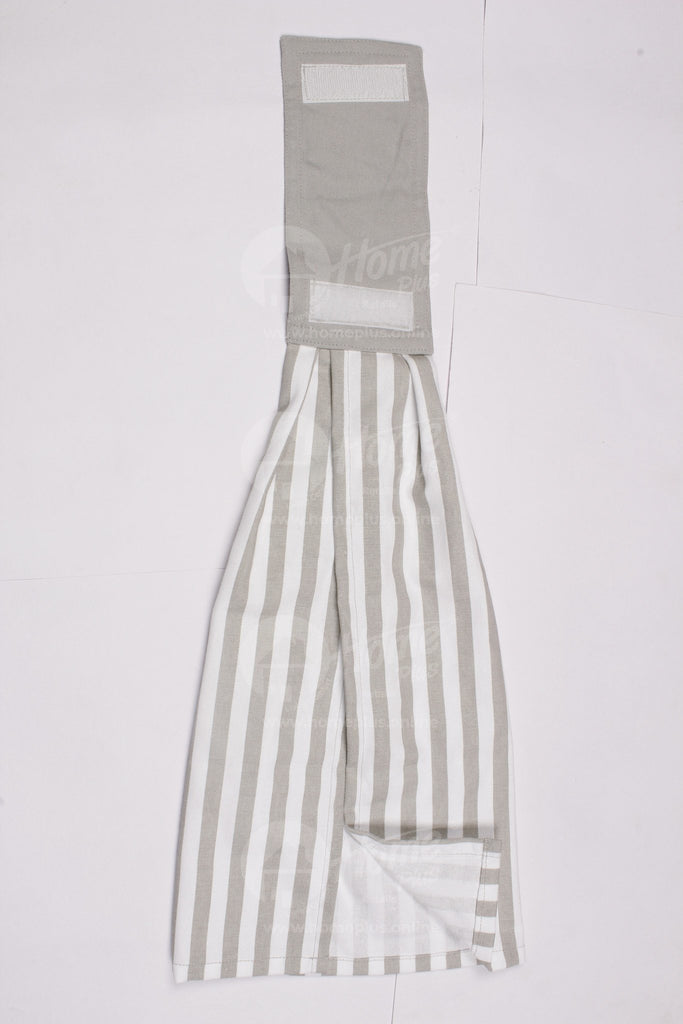 Wash Towel - Thin Stripe Grey