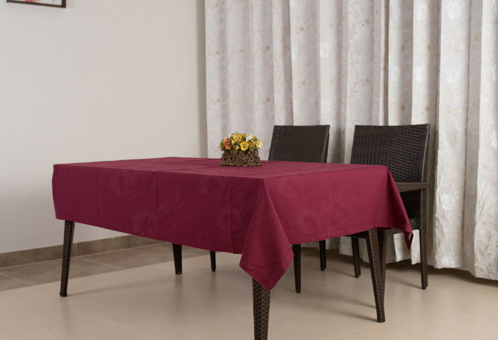 Table Cloth - Solid Plum