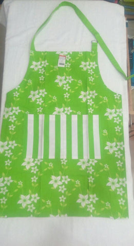 Apron Wind Flr Green