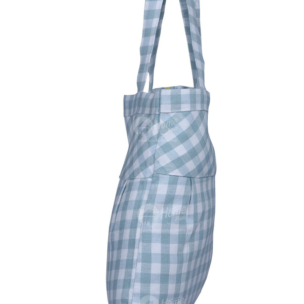 Fancy bag - Gingham Check Grey