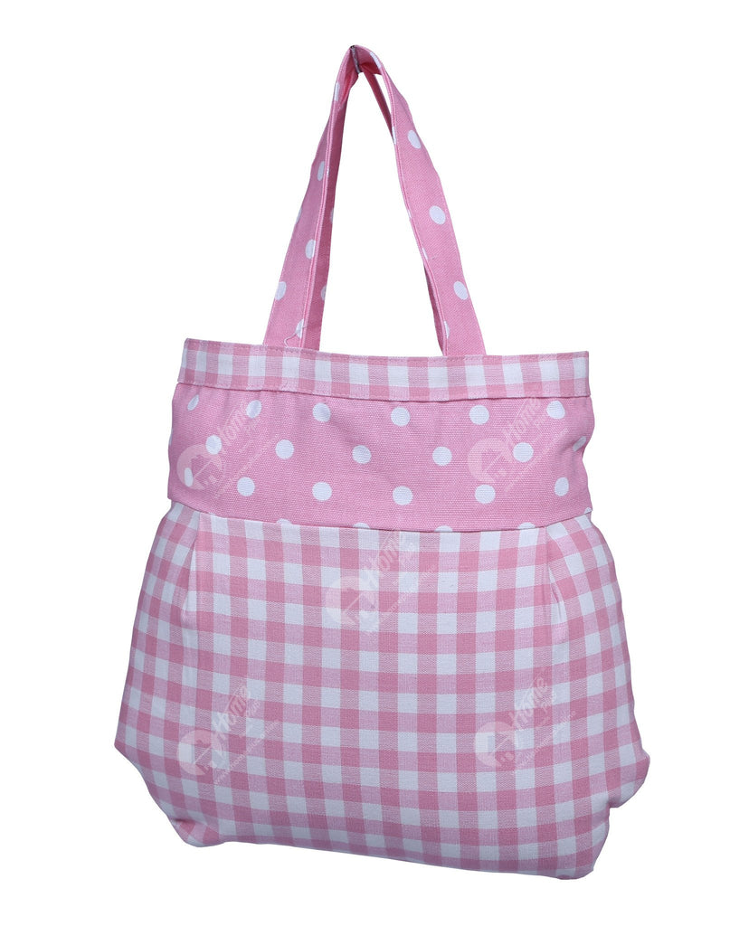 Fancy bag - Gingham Check Pink