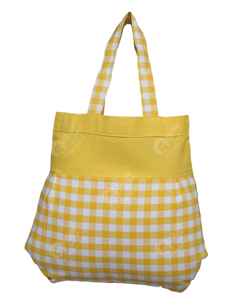 Fancy bag - Gingham Check Yellow