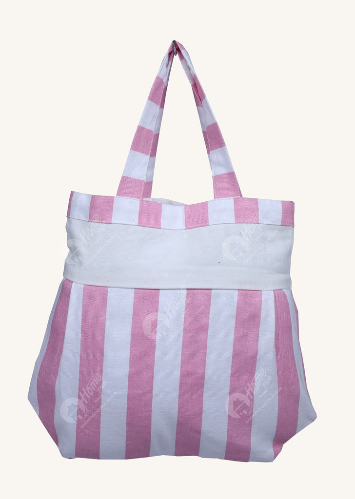 Fancy bag - Thick Stripe Pink