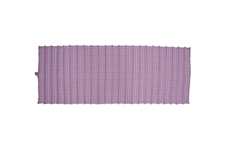 Beach Bed - Gingham Check Pink