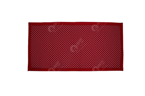 Travel Bed DF - Polka Dot Red