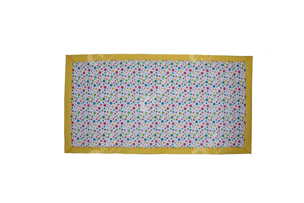 Travel Bed DF - Multi Polka Dot