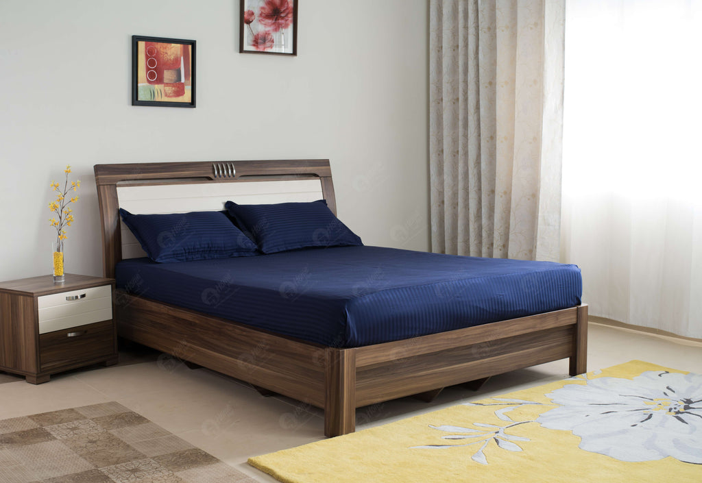 Bedsheet 300TC Dark Blue