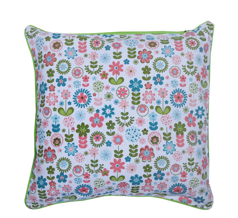 Cushion Cover - Retro Flowers