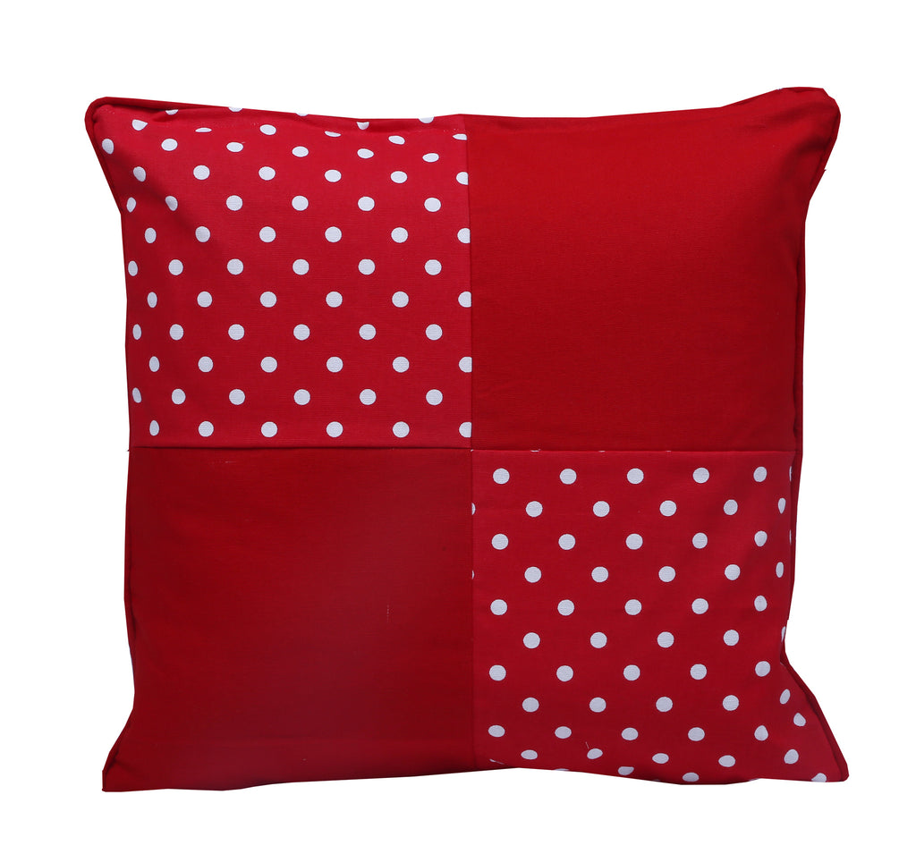 Cushion Cover - Polka Dot Red Joint