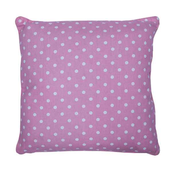 Cushion Cover - Polka Dot Pink