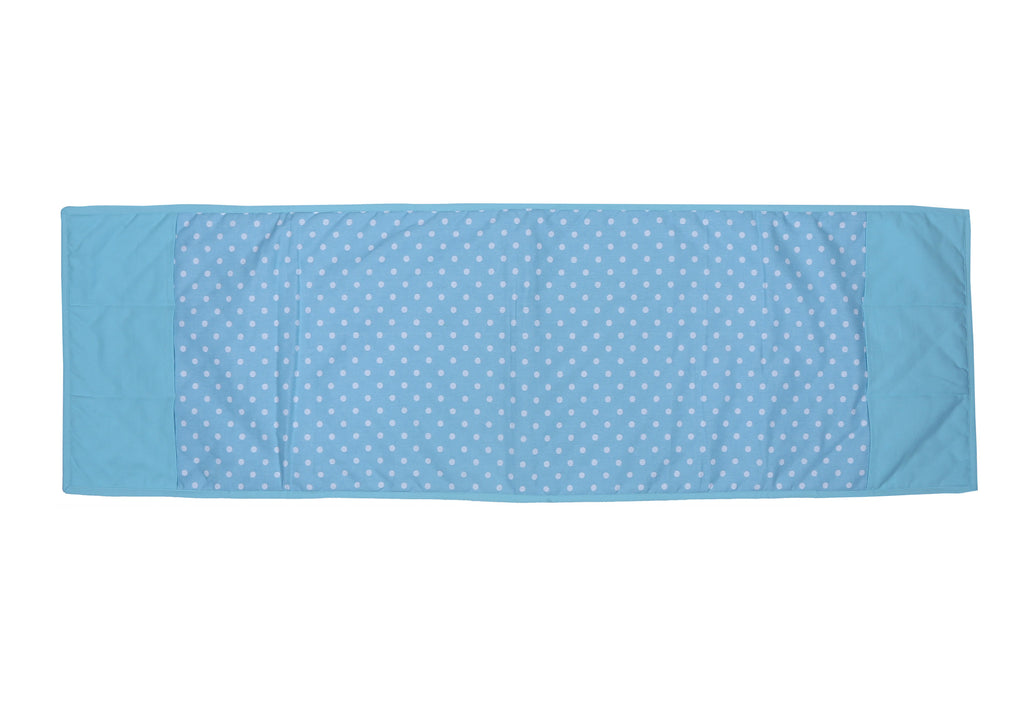 Fridge Cover - Polka Dot Blue
