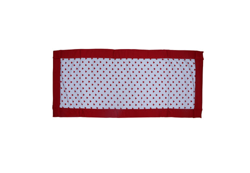 Foam Bed - Large Heart Red