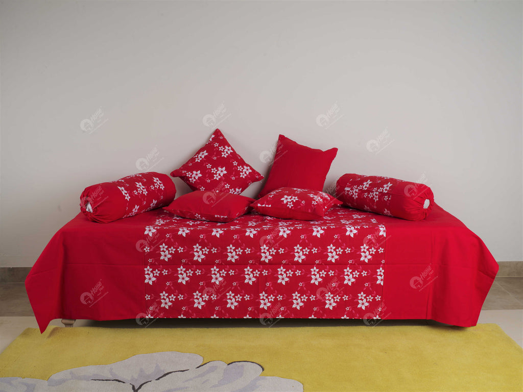 Diwan Set - Wind Flower Red