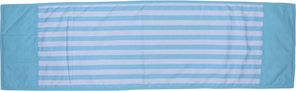 Fridge Cover - Thick Stripes Blue