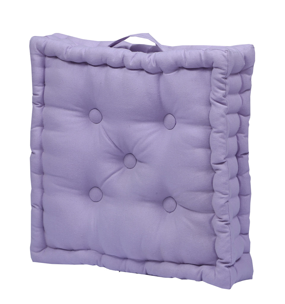 Floor Cushion - Solid Violet