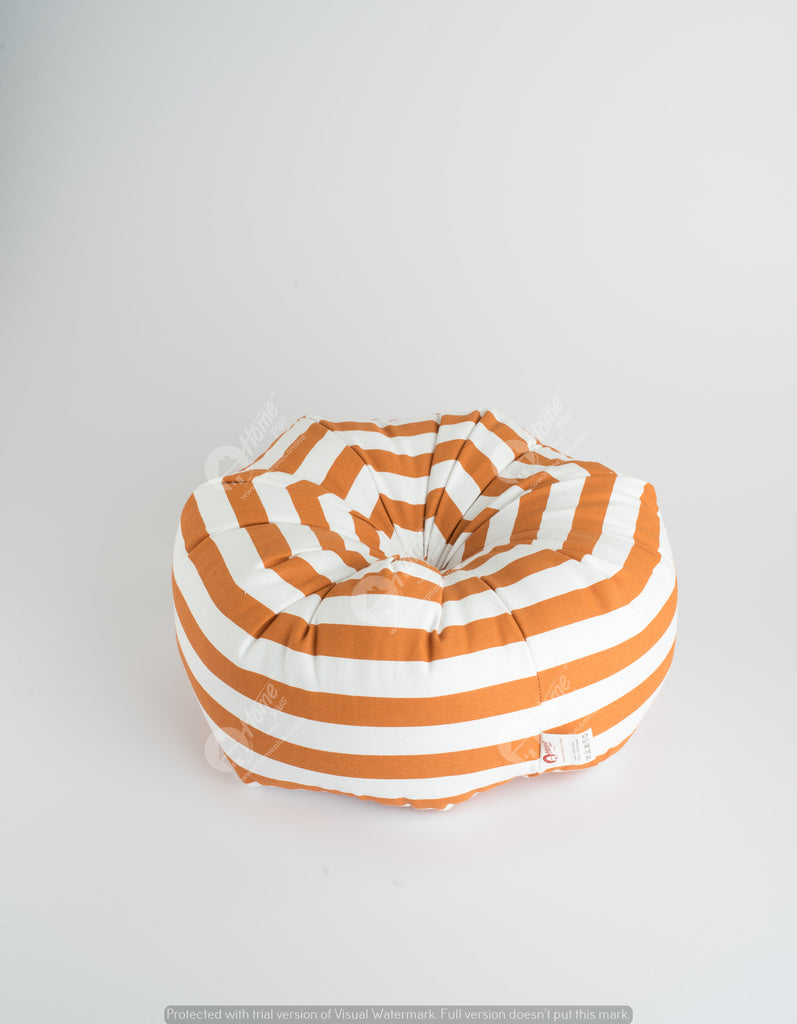 Octagon - Thick Stripe Burnt Orange