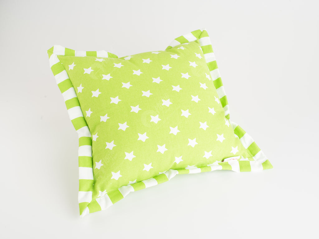 Flange Cushion - Star Green