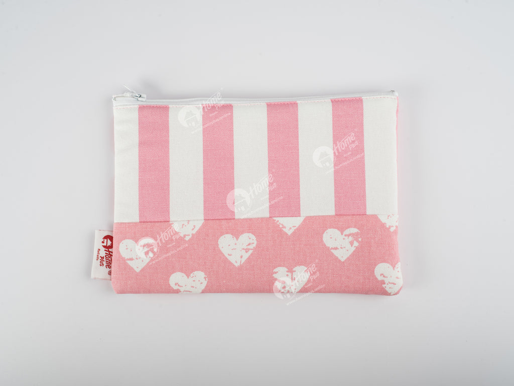 Pouch - Heart Pro Pink