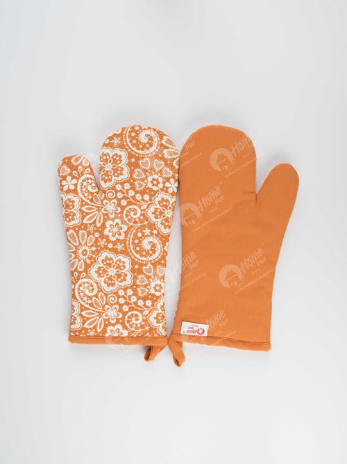 Glove - Lace Burnt Orange