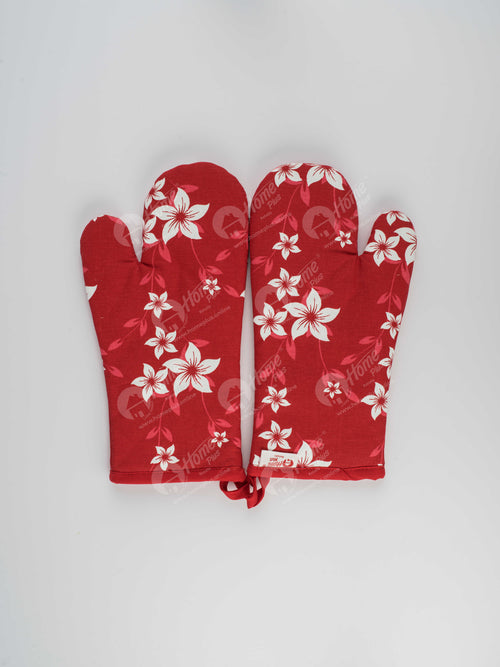 Glove - Wind Flower Red