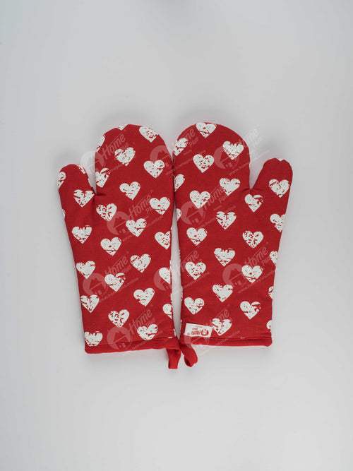 Glove - Heart Pro Red