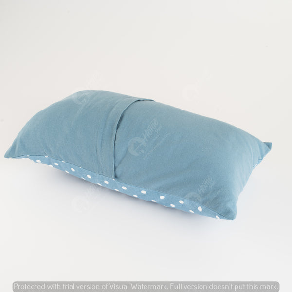 Cushion Cover - Polka Dot AF Blue