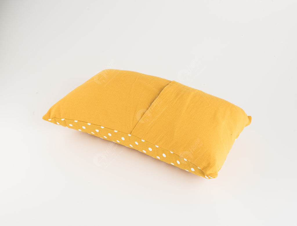 Cushion Cover - Polka Dot Mustard