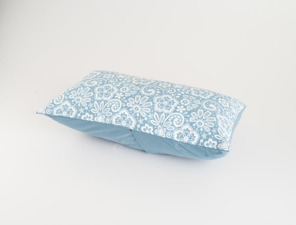Cushion Cover - Lace AF Blue