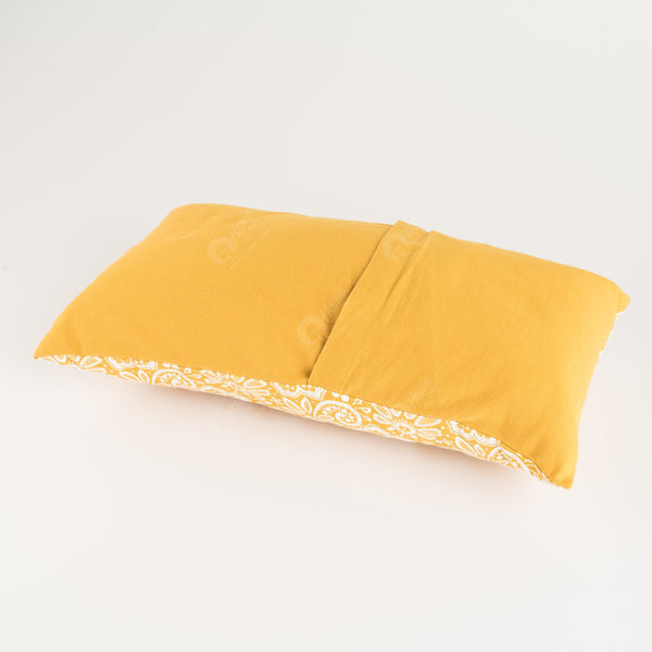 Cushion Cover - Lace Mustard