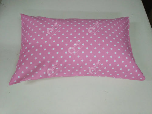 Pillow cover - Polka Dot Pink