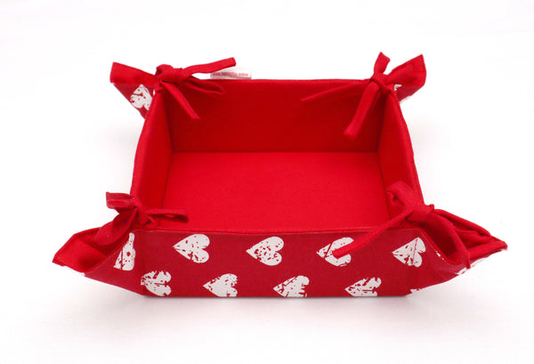 Bread Basket - Heart pro Red